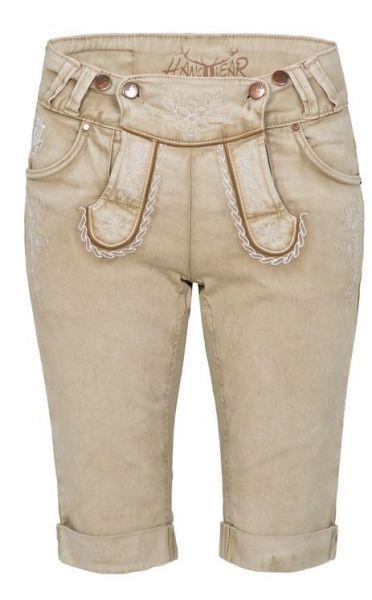 Color Jeans Bermuda beige