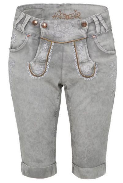 Color Jeans Bermuda hellgrau