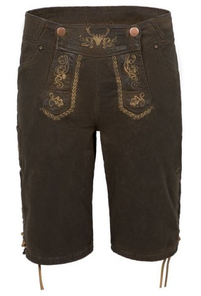 Color Short dark brown coated Herren